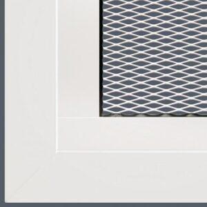 parkeergaragedeur met ventilatieroosters