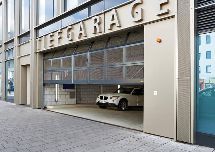 parkeergaragedeur sectionaaldeur overheaddeur